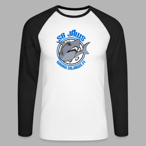 SB JAWS - Miesten pitkähihainen baseballpaita