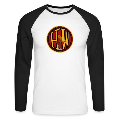 superhw stikker incl worst png - Men's Long Sleeve Baseball T-Shirt