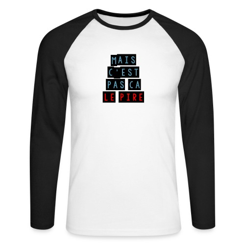 PCLP - T-shirt baseball manches longues Homme