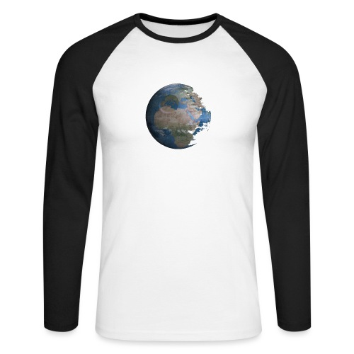 Death Earth - T-shirt baseball manches longues Homme