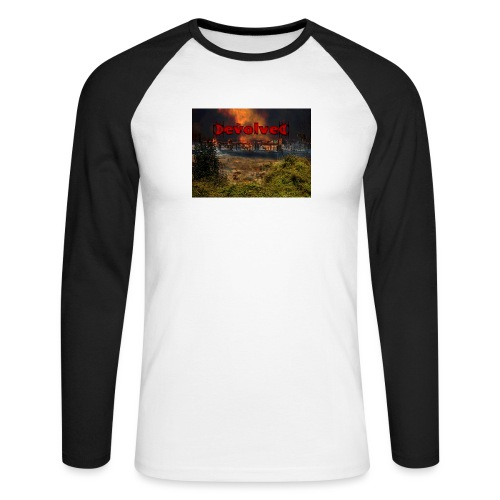 The Devolved Long TS1 - Men's Long Sleeve Baseball T-Shirt