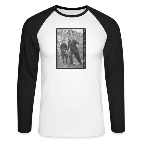 skateboard - Men's Long Sleeve Baseball T-Shirt