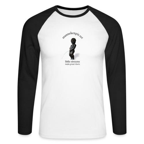 BXL ♀♂ | mannekenpis - T-shirt baseball manches longues Homme