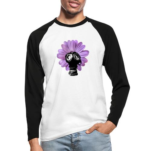 FleurMasque - T-shirt baseball manches longues Homme