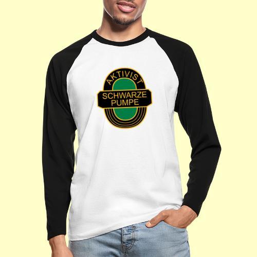 BSG Aktivist Schwarze Pumpe - Männer Baseballshirt langarm