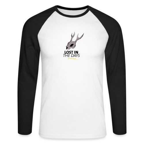crane sky visu t shirt2 png - T-shirt baseball manches longues Homme