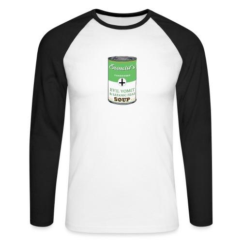 Exorcist's soup - T-shirt baseball manches longues Homme