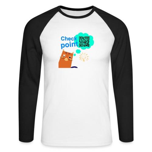 Duna Checkpoint - Langermet baseball-skjorte for menn
