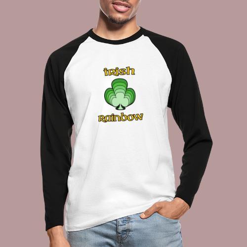 Irish rainbow - T-shirt baseball manches longues Homme