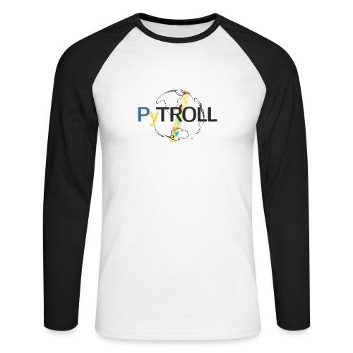 light logo spectral - Men's Long Sleeve Baseball T-Shirt