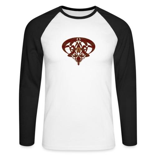Art Nouveau Art Deco Art Nouveau Vintage Art Gold - Men's Long Sleeve Baseball T-Shirt