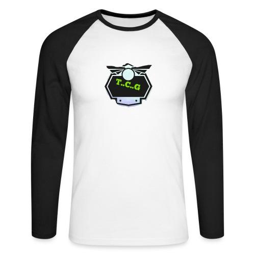 Cool gamer logo - Men's Long Sleeve Baseball T-Shirt