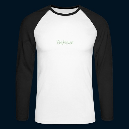 camicia di flofames - Maglia da baseball a manica lunga da uomo