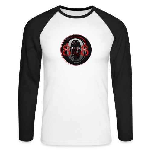 808shop-simple - T-shirt baseball manches longues Homme