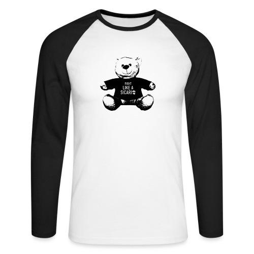 Kuschelkartel - Männer Baseballshirt langarm