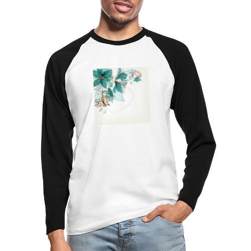 Tropical Flora - Men's Long Sleeve Baseball T-Shirt