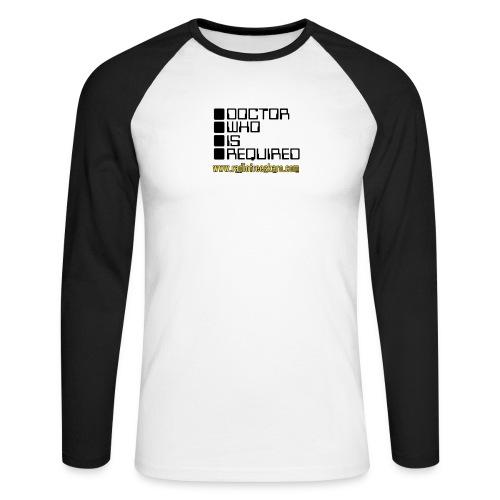 dwisrequired - Men's Long Sleeve Baseball T-Shirt