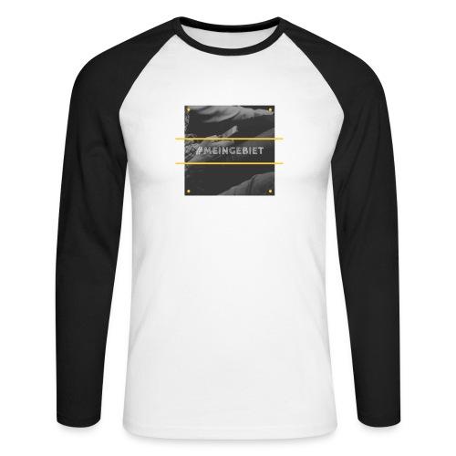 MeinGebiet - Männer Baseballshirt langarm