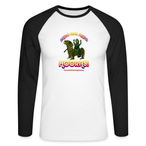 rfs hooray 2 - Men's Long Sleeve Baseball T-Shirt