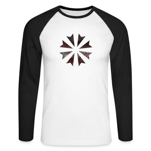 Gladiatores Haukreuz - Männer Baseballshirt langarm