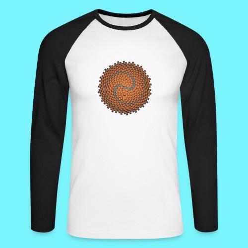 Wallflower - Men's Long Sleeve Baseball T-Shirt