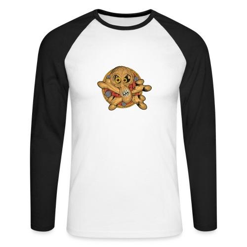 The skull - Men's Long Sleeve Baseball T-Shirt
