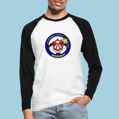 MCN Logo beidseitig - Männer Baseballshirt langarm