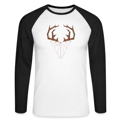LOW ANIMALS POLY - T-shirt baseball manches longues Homme