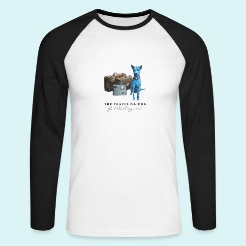 Laly Blue Big - Men's Long Sleeve Baseball T-Shirt