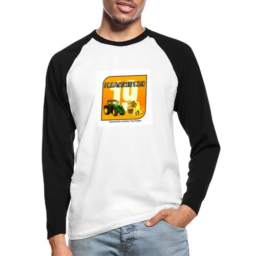 hjarne 123 danmarks bedeste youtuber - Langærmet herre-baseballshirt