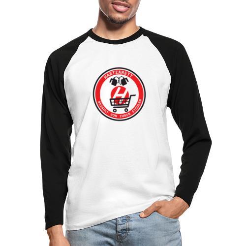 Hartzarett - Männer Baseballshirt langarm