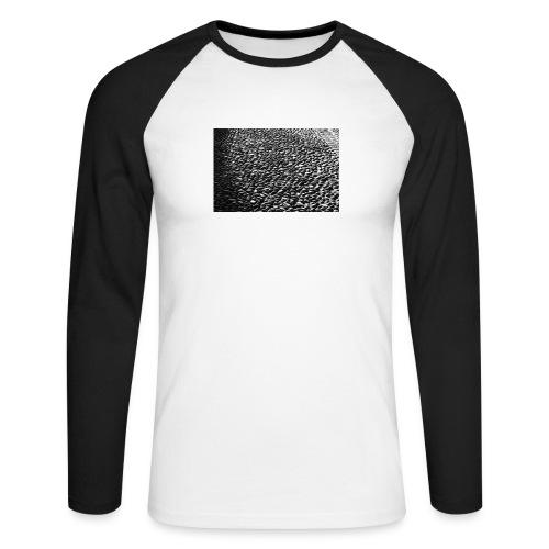 cobblestone shirt - Mannen baseballshirt lange mouw