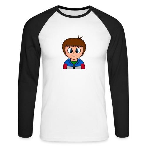 giofilms - Langærmet herre-baseballshirt