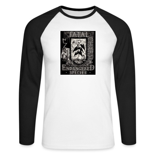 fatal charm - endangered species - Men's Long Sleeve Baseball T-Shirt