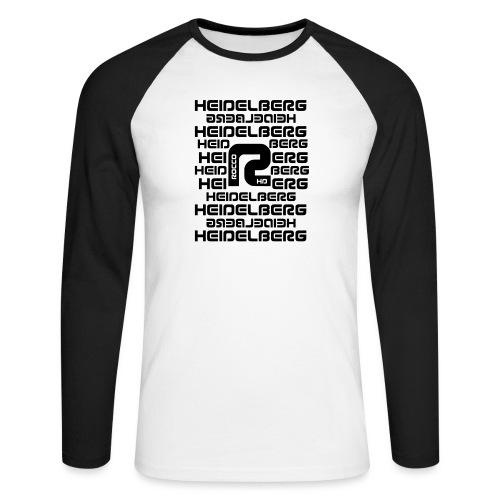 Heidelberg - Männer Baseballshirt langarm