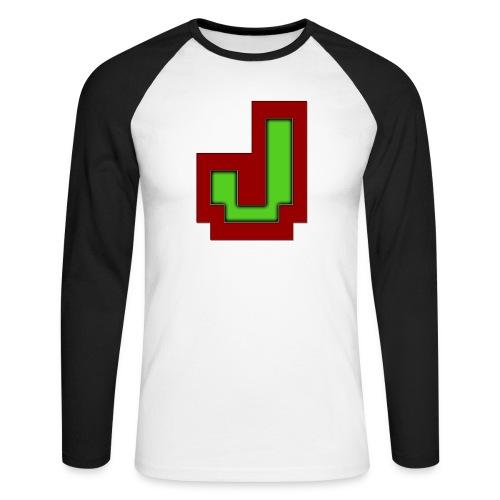 Stilrent_J - Langærmet herre-baseballshirt