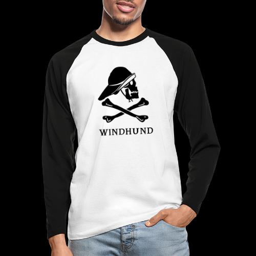 ~ Windhund ~ - Männer Baseballshirt langarm