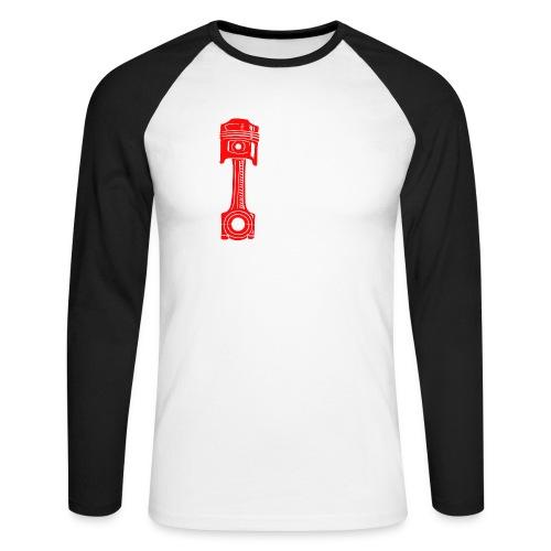 Piston - Men's Long Sleeve Baseball T-Shirt