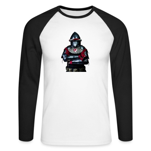chevalier.png - T-shirt baseball manches longues Homme