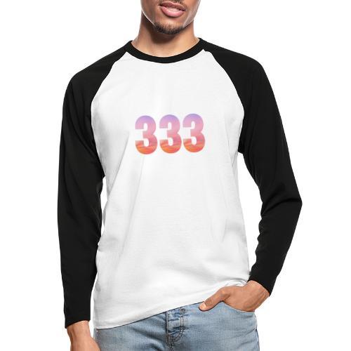 333 vous étes entouré de maitres ascensionnés - T-shirt baseball manches longues Homme