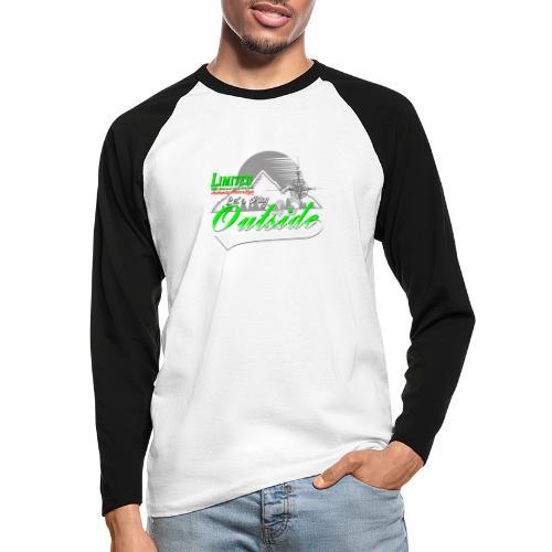Wandern Limited Edition Lets Play Outside - Männer Baseballshirt langarm