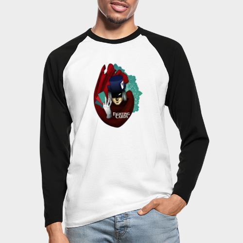 Fighting cards - Magicien - T-shirt baseball manches longues Homme