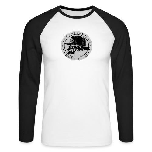 skull 13 milles noir et gris super design - T-shirt baseball manches longues Homme