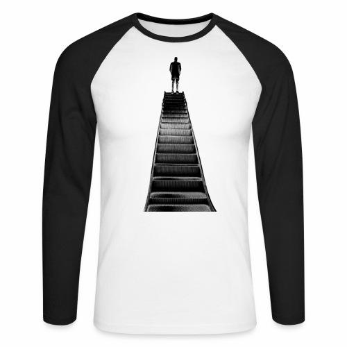 Stairway to Heaven - Men's Long Sleeve Baseball T-Shirt