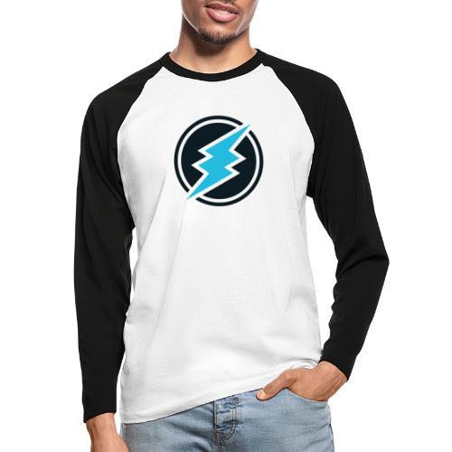 ETN logo - Men's Long Sleeve Baseball T-Shirt