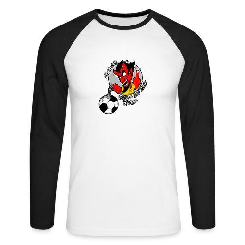 ontwerp_vrijgezellen3 - Mannen baseballshirt lange mouw