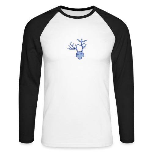 Jelen - Koszulka męska bejsbolowa z długim rękawem
