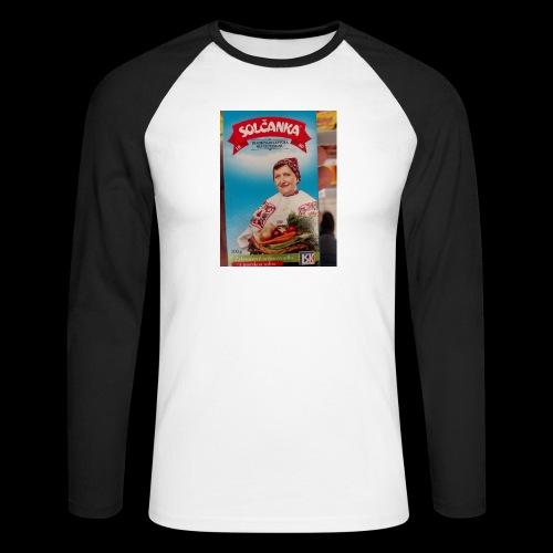 Babushka's fines - Men's Long Sleeve Baseball T-Shirt