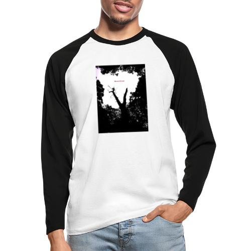 Scarry / Creepy - Men's Long Sleeve Baseball T-Shirt