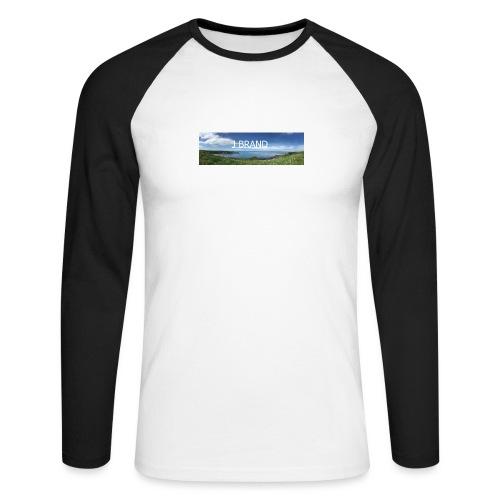 J BRAND Clothing - Men's Long Sleeve Baseball T-Shirt